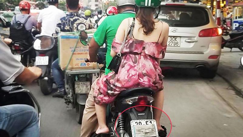Che biển số xe máy có thể bị phạt gấp 10 lần hiện nay