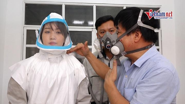 Thiết bị cho phép người bệnh Covid-19 'cách ly di động', sử dụng điều hòa