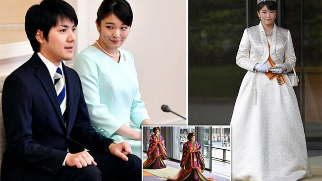 Công chúa Nhật Bản từ bỏ khoản hồi môn khổng lồ, kết hôn cùng thường dân