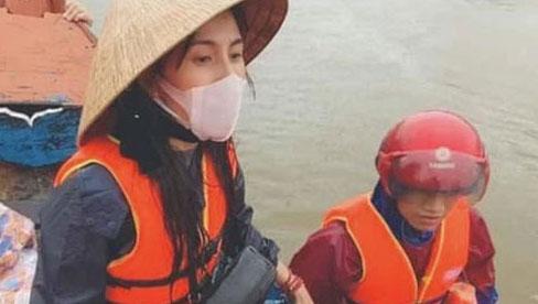 Bộ Công an yêu cầu cung cấp chứng cứ hoạt động từ thiện của ca sĩ Thuỷ Tiên ở Quảng Bình