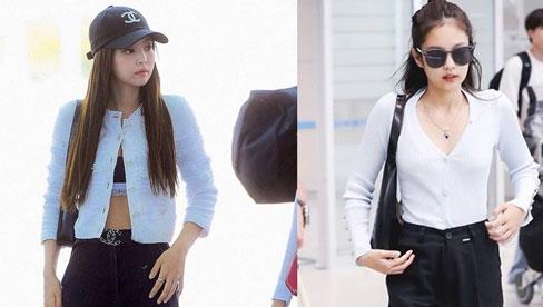 Jennie sắm đồ đơn giản hơn bạn nghĩ, chỉ mua quần đen ống rộng mà phối được hẳn 8891 bộ đồ