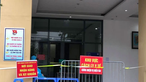 Hà Nội: Người đàn ông về từ Vũng Tàu nghi nhiễm Covid-19, phong toả tạm thời một toà chung cư