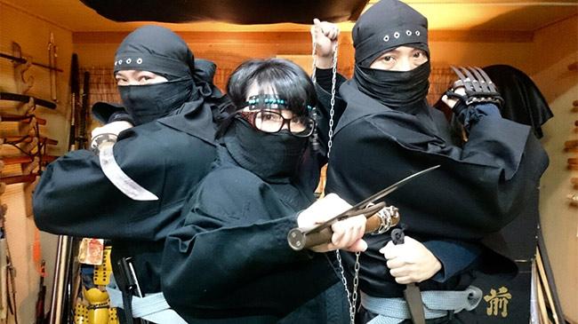 """""""Đột nhập"""" lò đạo tào ninja xịn nhất Nhật Bản"""
