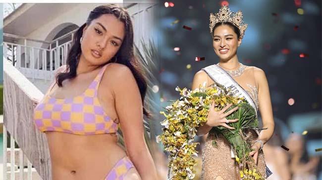 Người đẹp 71 kg đăng quang Hoa hậu Hoàn vũ Thái Lan 2021